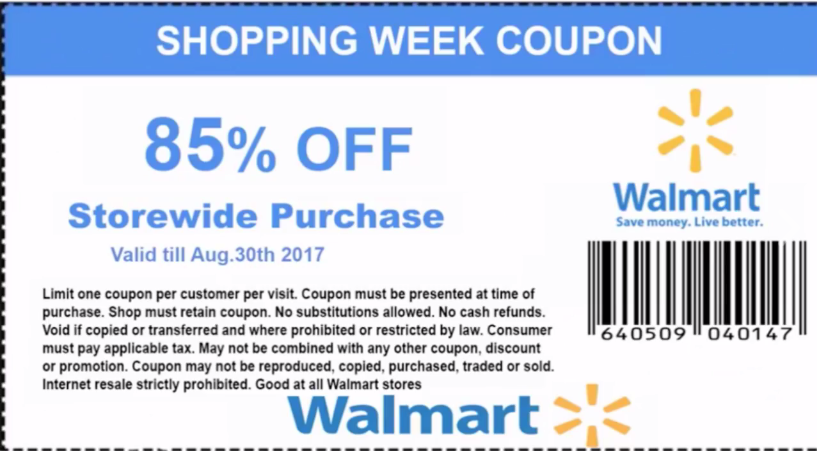 Walmart is constantly moving forward, and that includes electronically. The Walmart e-commerce site is a huge part of its operations. Not only does it allow Walmart to extend services to more people, but it also makes it easy for you to use Walmart coupons and save more on your purchases.5/5().