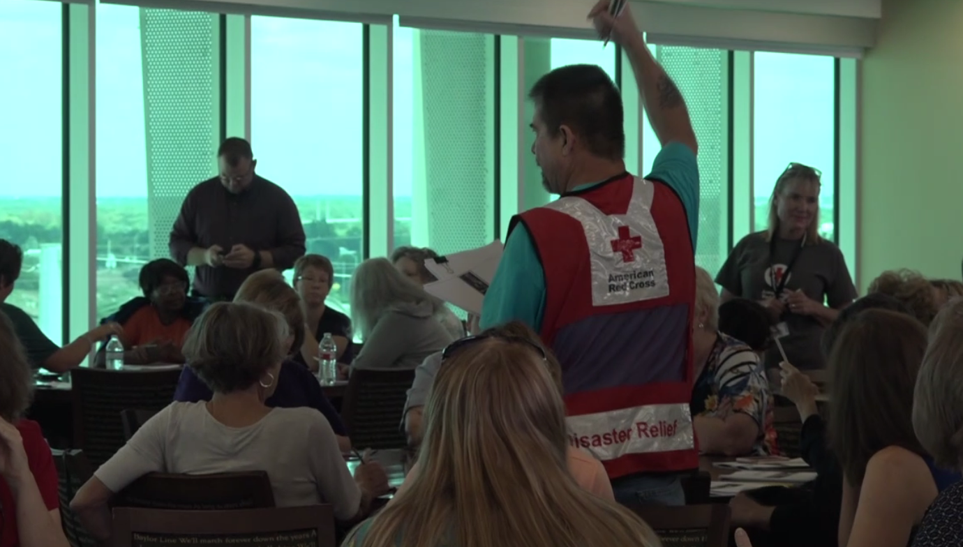 American Red Cross Training Volunteers In Waco