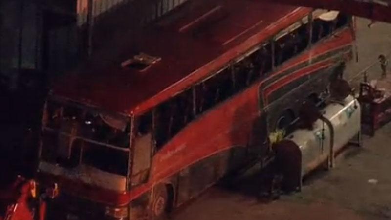Bus Crash Kills Eight Near Laredo Cause Undetermined Kcentv Com
